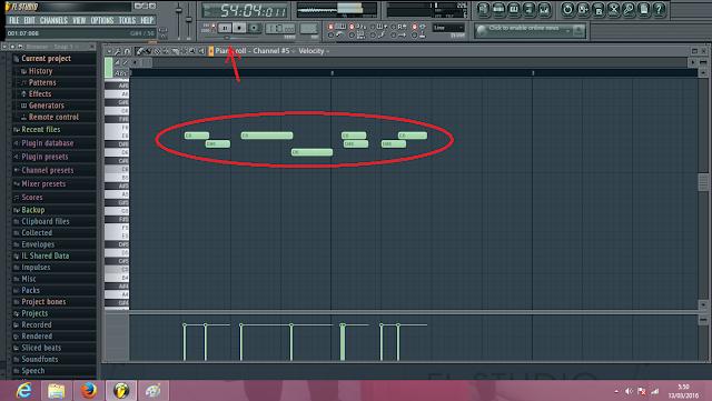 Cara mengedit Midi dengan FL Studio