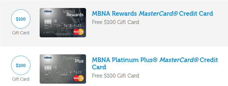 Shoppers Mastercard Mbna