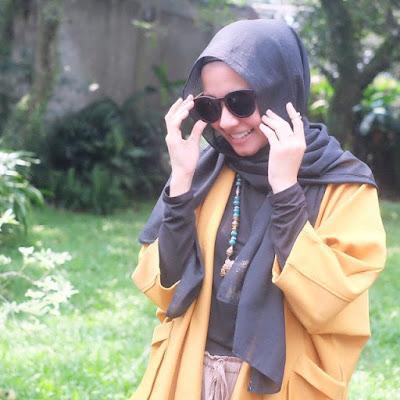 fashion terbaru Ala Laudya Cintya Bella 1