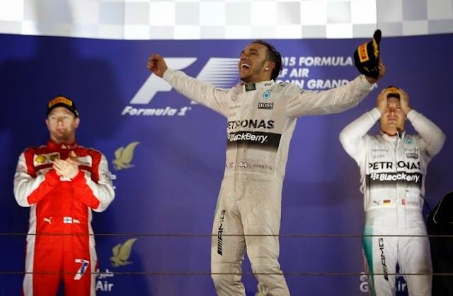 Hamilton vence mais uma, Massa faz corrida de recuperação e chega em 10°, Nasr é o 12°