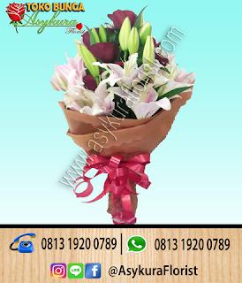 Hand Bouquet Bunga Tangan Karawang
