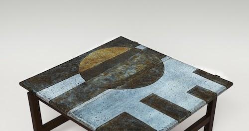 Galerie Riviera Les 2 Potiers Table Basse En Lave
