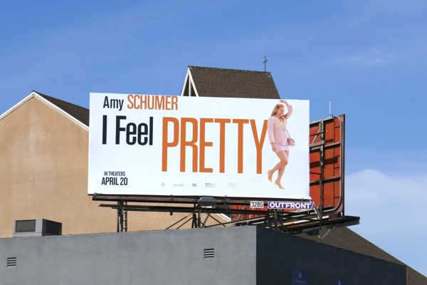 I Feel Pretty billboard