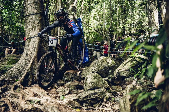2016 Cairns UCI World Cup Downhill: Qualifying Highlights - Troy Brosnan