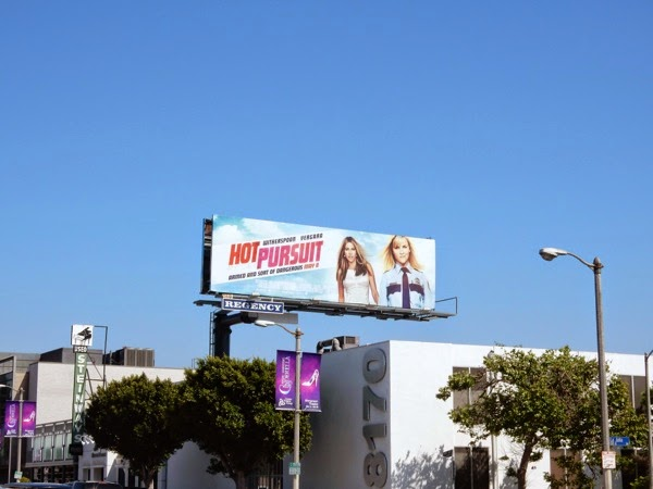 Hot Pursuit movie billboard