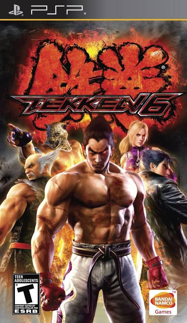 ROMs - Tekken 6 - PSP Download