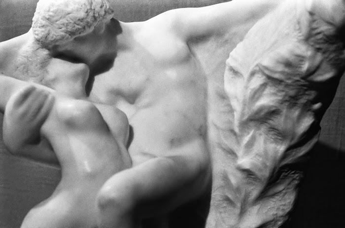 Saint-Pétersbourg, Leningrad, Ermitage, Auguste Rodin, Éternel Printemps, Baiser, © L. Gigout, 1990