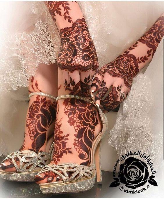 Fashion Designer Beautiful Latest Simple Easy Arabic Gulf Mandala