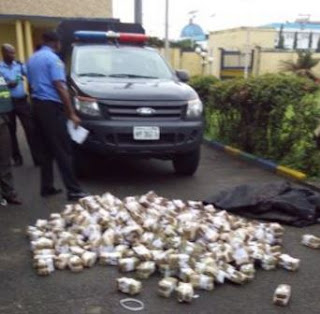 Police in Nigeria recover missing bullion van money