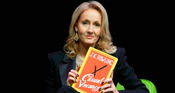 "J.K. Rowling y el libro ""The Casual Vacancy"""