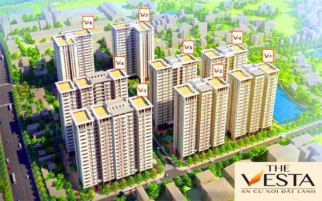 Dự án chung cư The Vesta