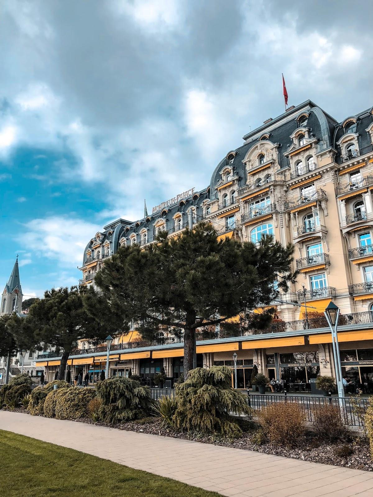 hôtel Fairmont Palace Montreux