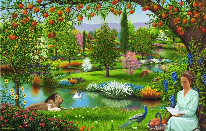 Ou Etait Situe Le Jardin D Eden Paradis Terrestre