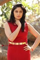 Telugu Actress Zahida Sam Latest Pos in Red Gown at RF Films New Movie Opening  0110.JPG
