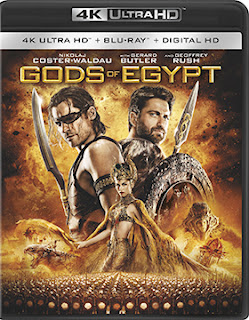 DVD & Blu-ray Release Report, The Gods of Egypt, Ralph Tribbey