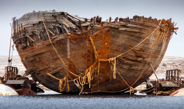 Arctic explorer Roald Amundsen's former ship raised to surface
