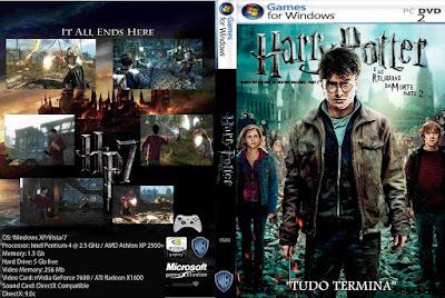 Jogo Harry Potter e as Relíquias da Morte Parte 2 PC