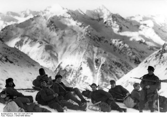 German field marshals worldwartwo.filminspector.com Caucasus mountain troops