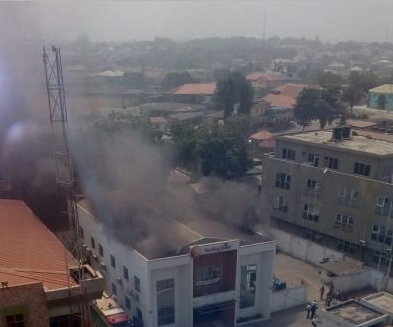 fire outbreak sterling bank abeokuta