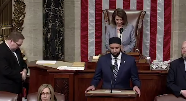 """MILITANTLY ANTI-SEMITIC IMAM GIVES OPENING PRAYER AT HOUSE OF REPRESENTATIVES"""