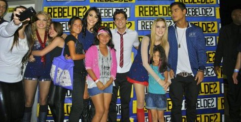 REBELDES RECORD 2012