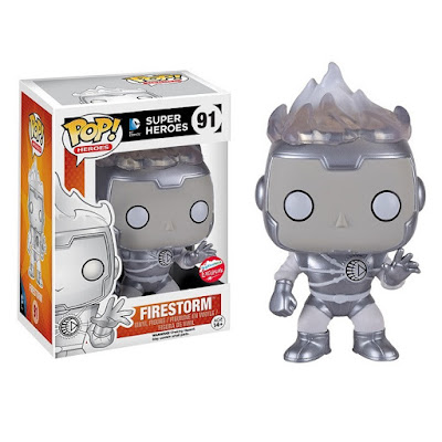 San Diego Comic-Con 2016 Exclusive DC Comics White Lantern Firestorm Pop! Vinyl Figure by Funko
