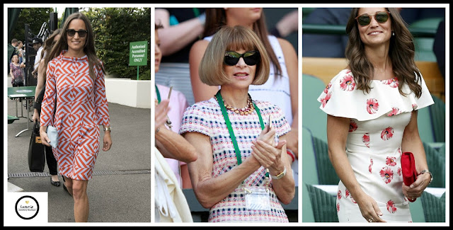 Wimbledon 2016, Pippa Middleton, dressing for Wimbledon, Anna Wintour