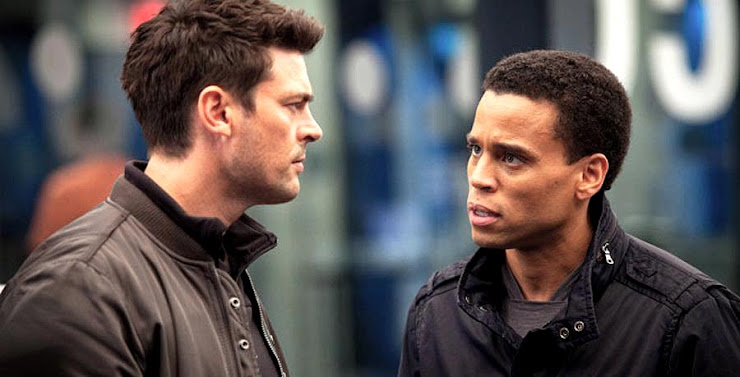 Almost Human Series 2013 Karl Urban and Michael Ealy