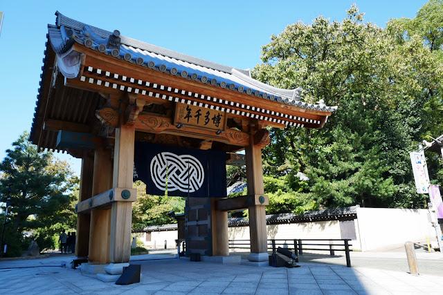 博多千年門、福岡