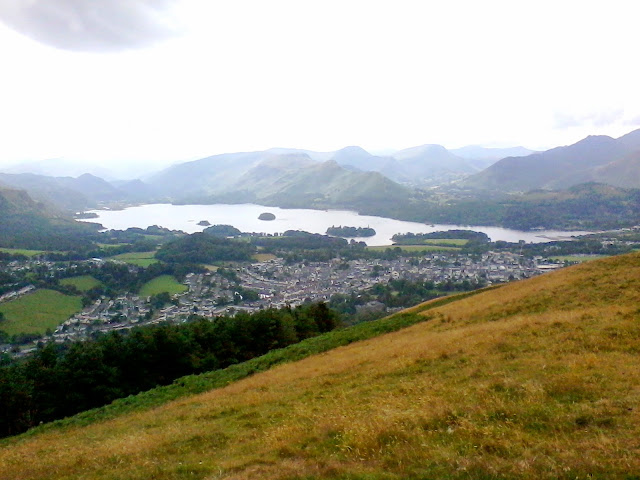 The town of Keswick from Latrigg