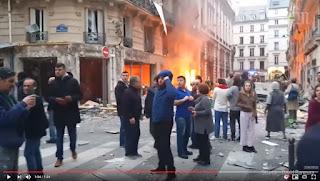 فيديو ..انفجار خايب بفرنسا..الأول من نوعه في 2019