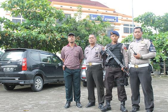 Perketat Keamanan, Samsat Cinere Siagakan Brimob Bersenjata