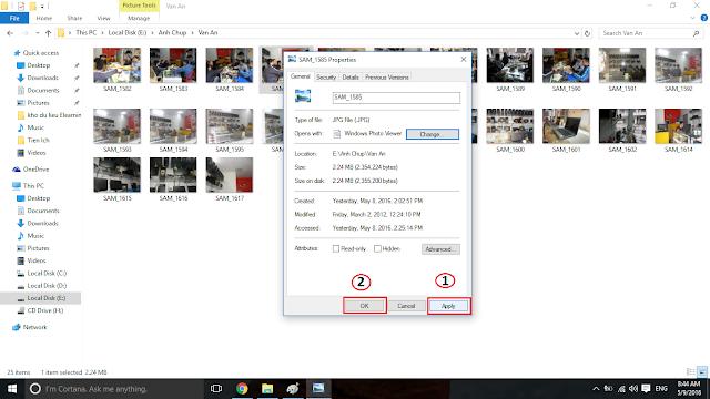 Xem ảnh mặc định với Windows Photo Viewer - H07