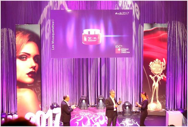 Les Victoires de la Beauté 2016/2017 - IDC - Blog beauté Les Mousquetettes ©