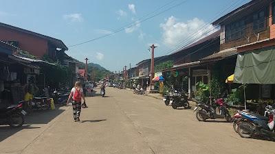 Foto van het oude stadje Ko Lanta old town