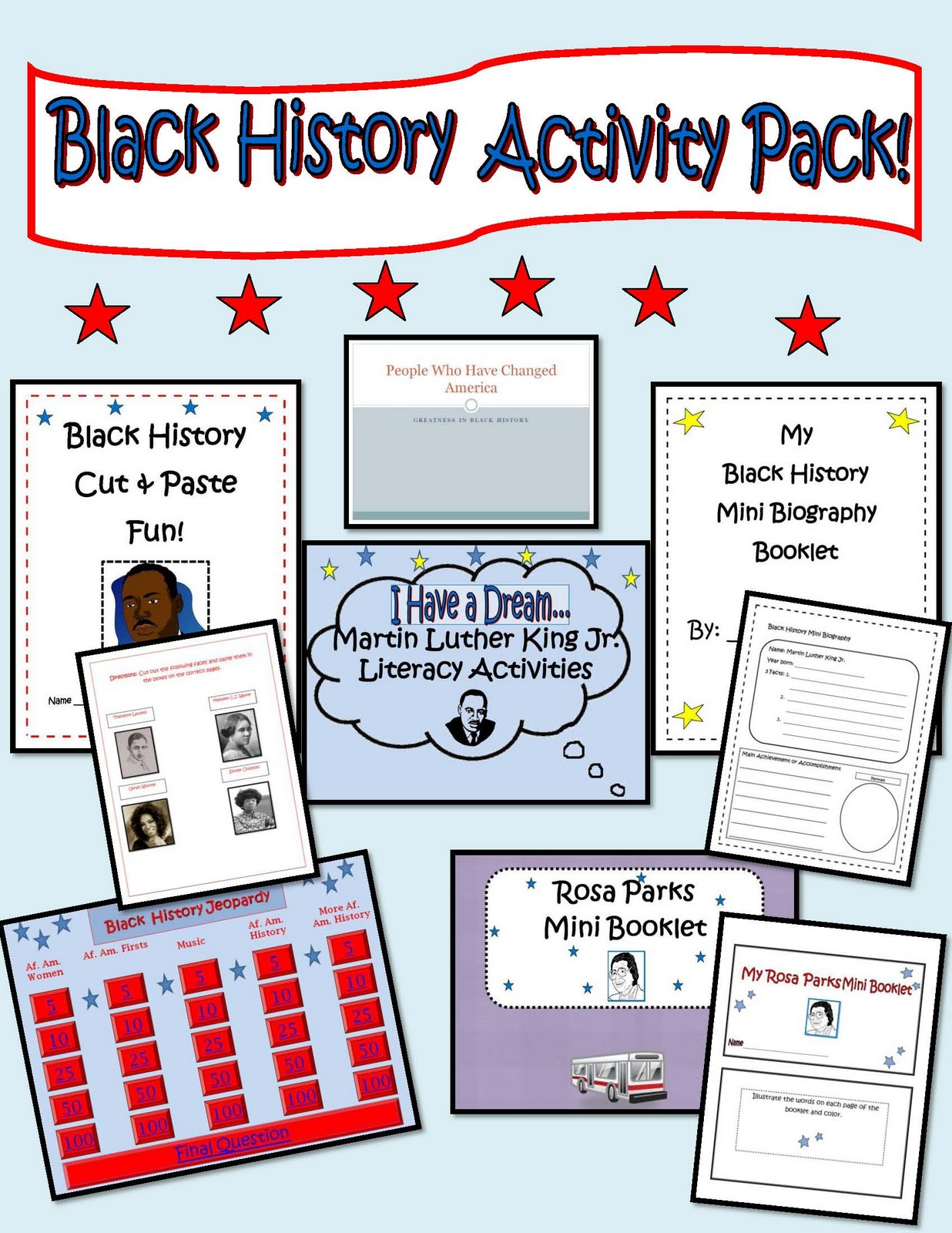Engaging Lessons And Activities Black History Activities