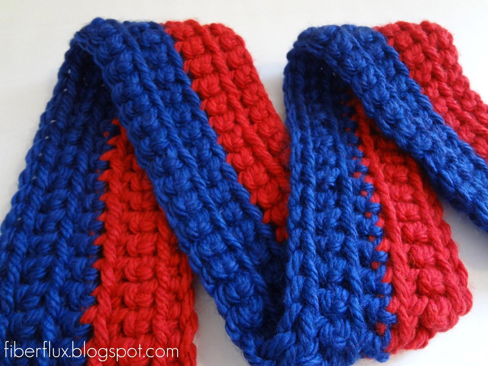Fiber Flux: Free Crochet Pattern...Little Man Scarf