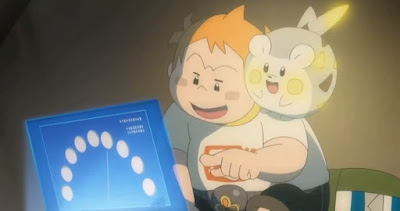 Pokémon Sol y Luna Ultra Aventuras Capitulo 26 Temporada 21 Despega, nave brillante