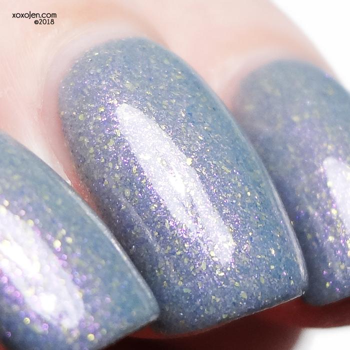 xoxoJen's swatch of Native War Paints Dusk