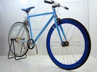 3 Sepeda Fixie EVERGREEN dengan Flip Flop Hub 700C