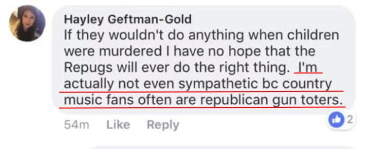 アメリカのTV女性局員「私は今回のテロ犠牲者に同情しない。だってカントリー音楽ファンは共和党支持者だから」⇒解雇される