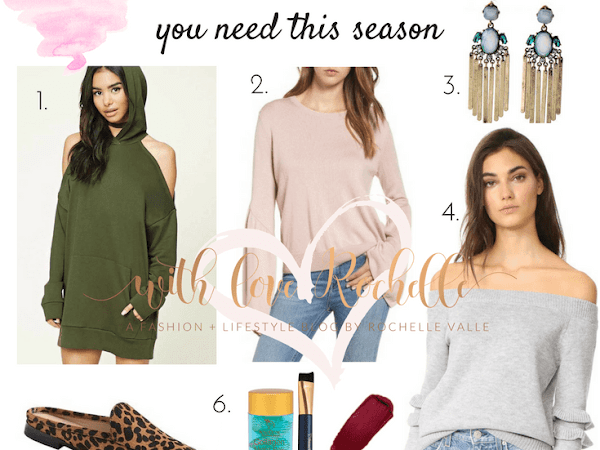 Fall Must Haves You Need This Season