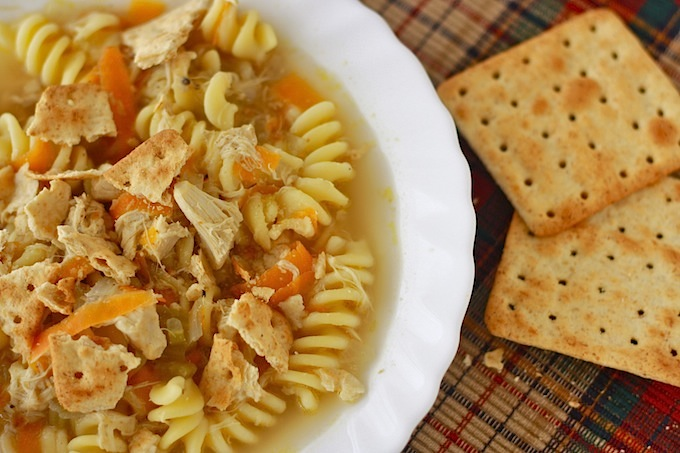 Traditional Chicken Noodle Soup recipe by SeasonWithSpice.com
