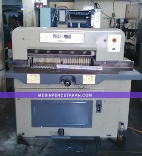 Mesin potong kertas POLAR 72 ex. import