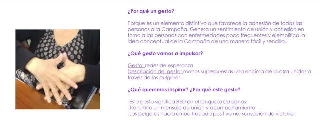 Gesto Creando Redes de Esperanza - FEDER #enfermedadesraras