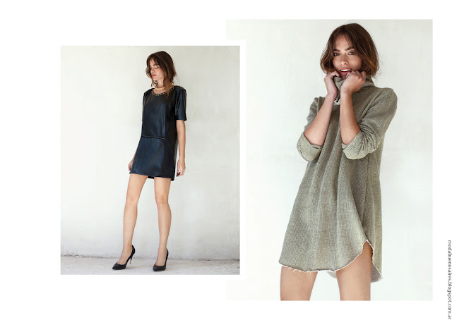 Moda invierno 2016 ropa de mujer. Moda invierno 2016 Pura Pampa.