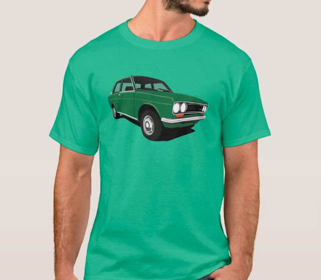 Green Datsun Bluebird 1600 510 t-shirts