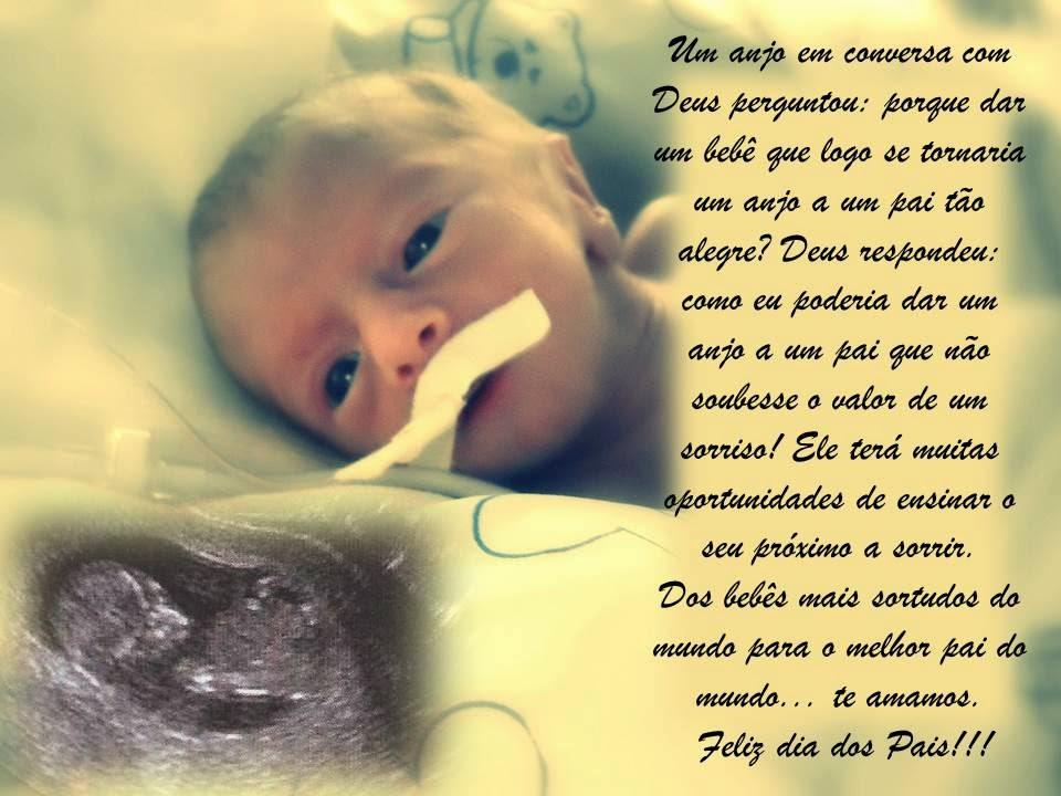 Mensagem De Mãe Para Filho Bebe