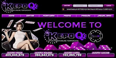 KepoQQ Situs Baru BandarQ Domino99 AduQ Poker Online Terpercaya