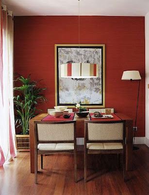 Red Dining Decorating Ideas That You Can Try For Your Home